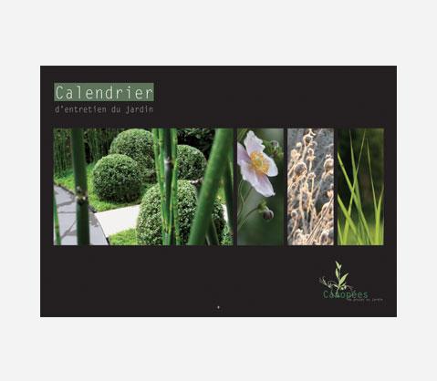 Le calendrier perpetuel d'entretien du jardin